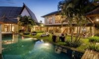 Pool at Night - Villa M Bali Seminyak - Seminyak, Bali