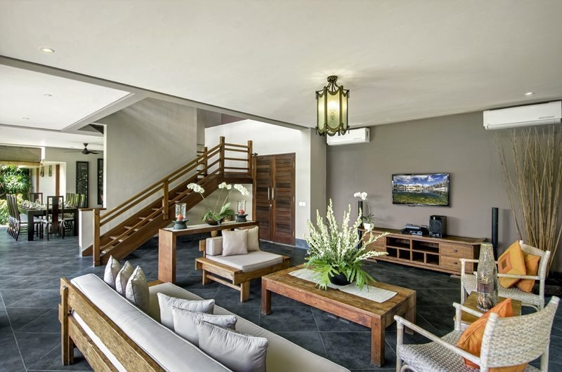 Living Area with Up Stairs - Villa M Bali Seminyak - Seminyak, Bali