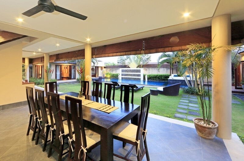Dining Area with Pool View - Villa M Bali Seminyak - Seminyak, Bali