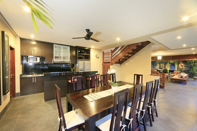 Kitchen and Dining Area - Villa M Bali Seminyak - Seminyak, Bali