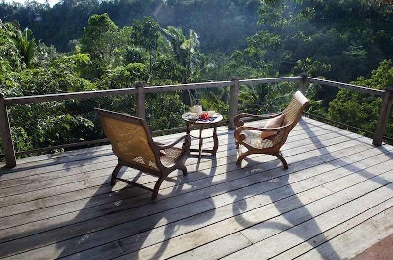 Balcony View - Villa Melati - Ubud, Bali