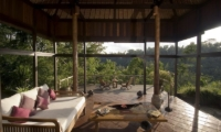 Open Plan Lounge Area - Villa Melati - Ubud, Bali