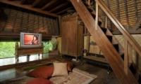 TV Room with Up Stairs - Villa Melati - Ubud, Bali