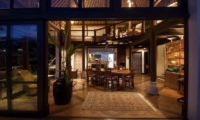 Indoor Dining Area - Villa Melati - Ubud, Bali