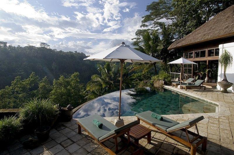Pool Side - Villa Melati - Ubud, Bali