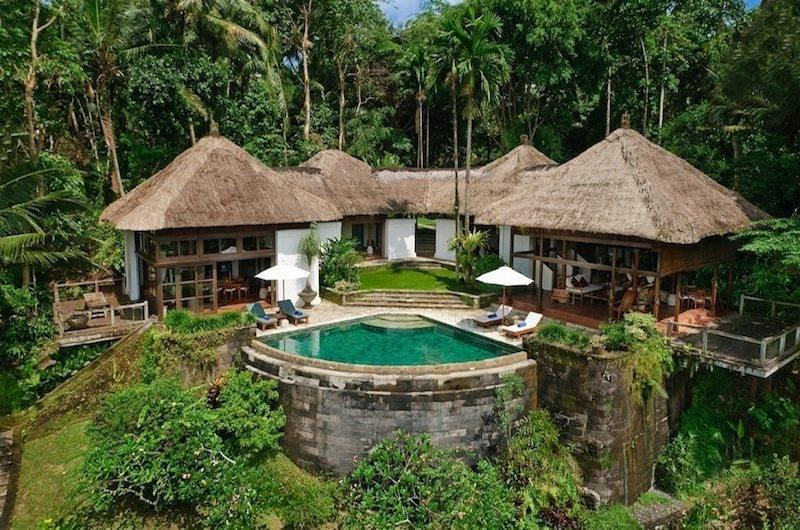 Bird's Eye View - Villa Melati - Ubud, Bali