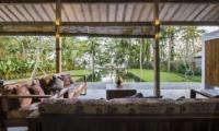 Living Area with Pool View - Villa Melaya - Gilimanuk, Bali