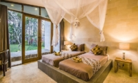 Bedroom with Twin Beds - Villa Melaya - Gilimanuk, Bali