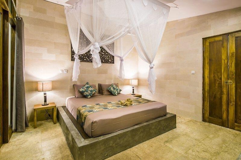 Bedroom with Mosquito Net - Villa Melaya - Gilimanuk, Bali