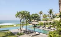 Gardens and Pool with Sea View - Villa Melissa - Pererenan, Bali