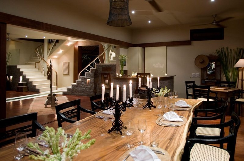 Dining Area with Up Stairs - Villa Melissa - Pererenan, Bali