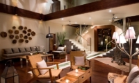 Living Area at Night - Villa Melissa - Pererenan, Bali