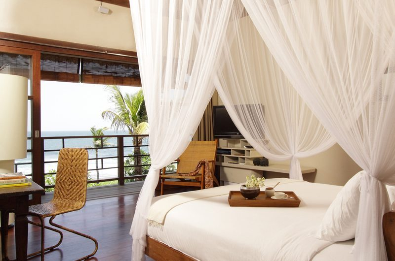 Bedroom with Sea View - Villa Melissa - Pererenan, Bali