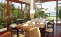 Dining Area with Sea View - Villa Melissa - Pererenan, Bali