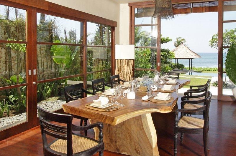Dining Area with Sea View - Villa Melissa - Pererenan, Bali