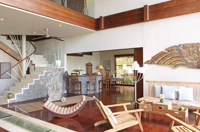Living Area with Up Stairs - Villa Melissa - Pererenan, Bali