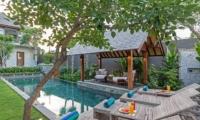 Pool Side Loungers - Villa Meliya - Umalas, Bali
