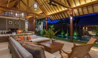 Living Area with Garden View - Villa Meliya - Umalas, Bali