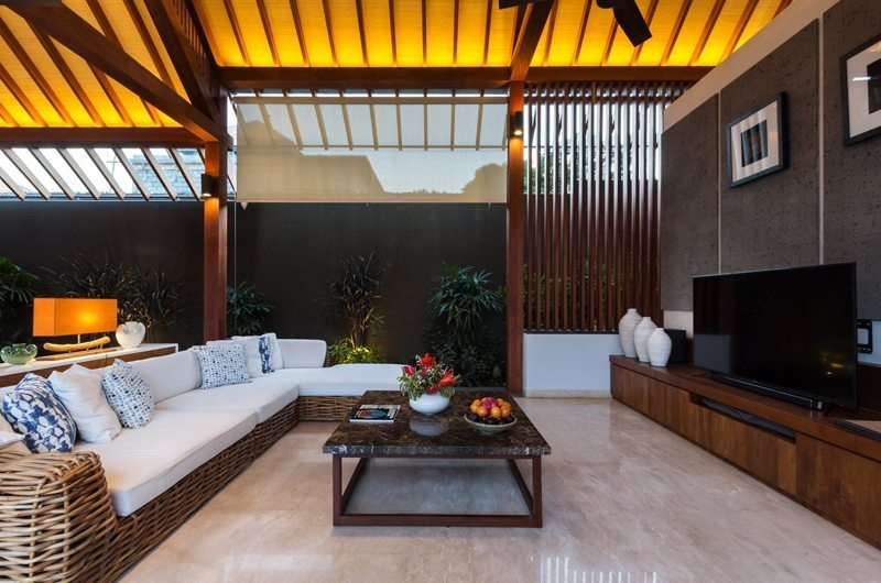 Lounge Area with TV - Villa Meliya - Umalas, Bali