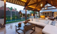 Living Area with Pool View - Villa Meliya - Umalas, Bali