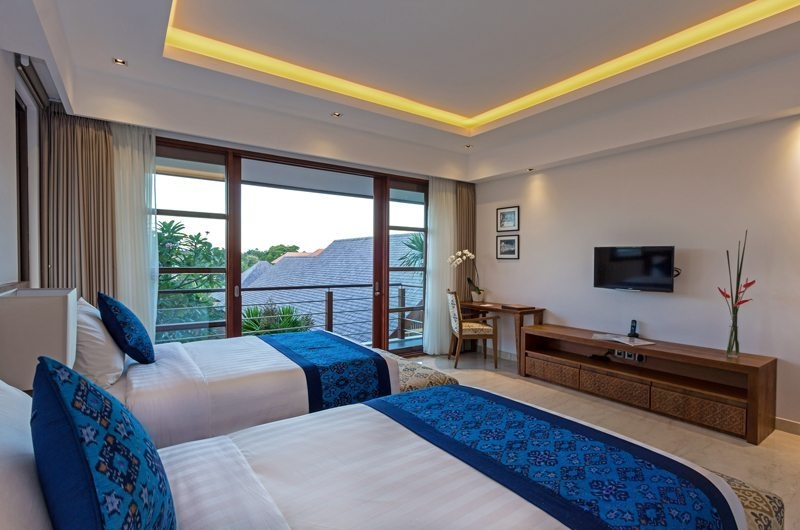 Twin Bedroom with TV - Villa Meliya - Umalas, Bali