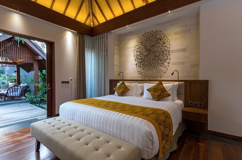 Bedroom with Garden View - Villa Meliya - Umalas, Bali