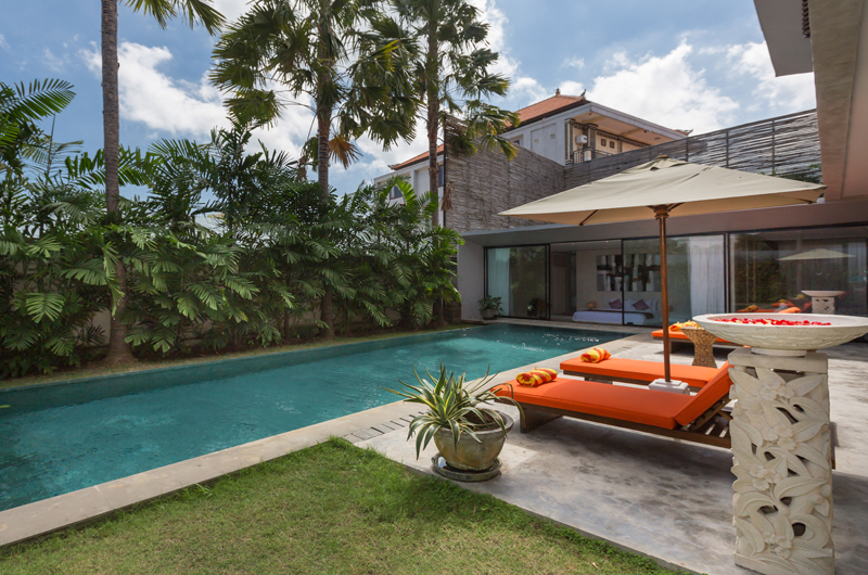 Gardens and Pool - Villa Mikayla - Canggu, Bali