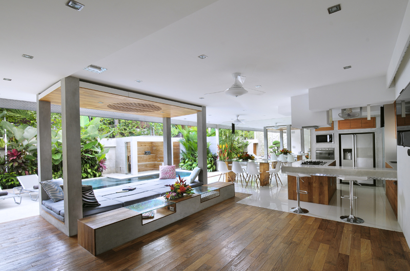 Indoor Living Area - Villa Minggu - Seminyak, Bali