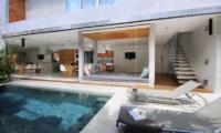 Pool Side Loungers - Villa Minggu - Seminyak, Bali