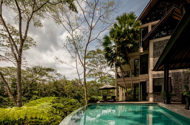Gardens and Pool - Villa Naga Putih - Ubud, Bali