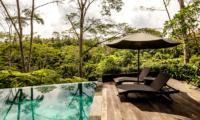 Sun Loungers - Villa Naga Putih - Ubud, Bali
