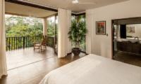 Bedroom and Balcony - Villa Naga Putih - Ubud, Bali