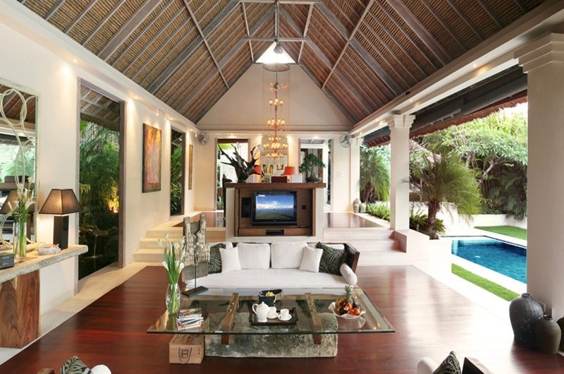 Living Area - Villa Nalina - Seminyak, Bali