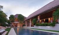 Pool Side loungers - Villa Nalina - Seminyak, Bali