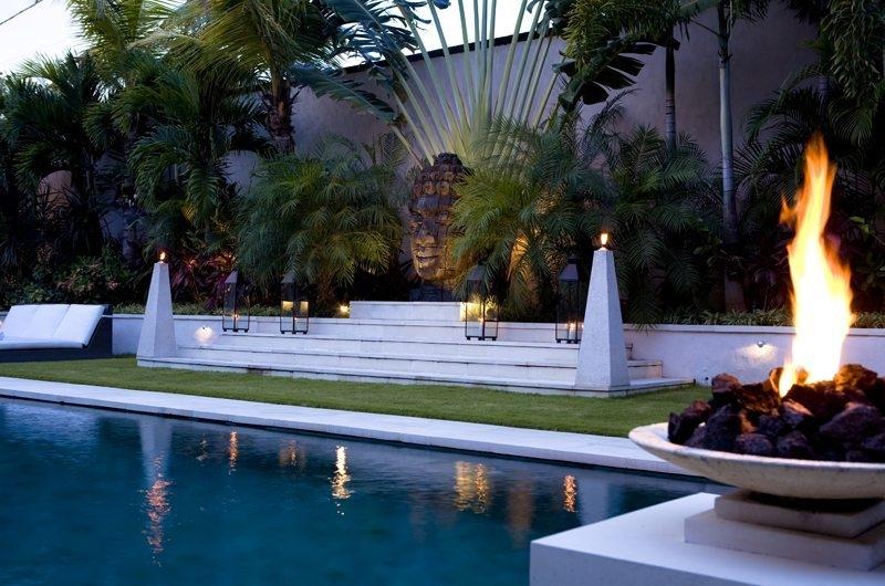 Pool Side - Villa Nalina - Seminyak, Bali
