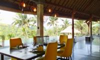 Dining Area - Villa Nature - Ubud, Bali