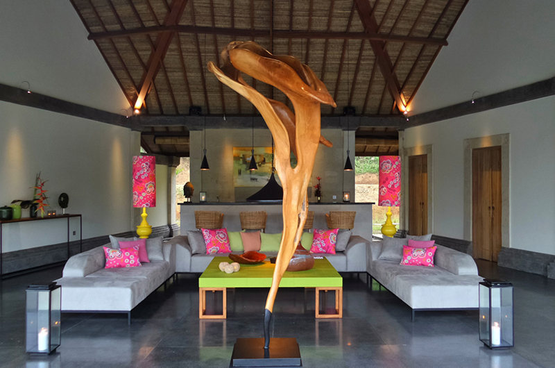 Indoor Living Area - Villa Nature - Ubud, Bali