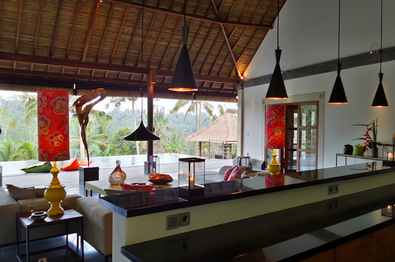 Living Room - Villa Nature - Ubud, Bali