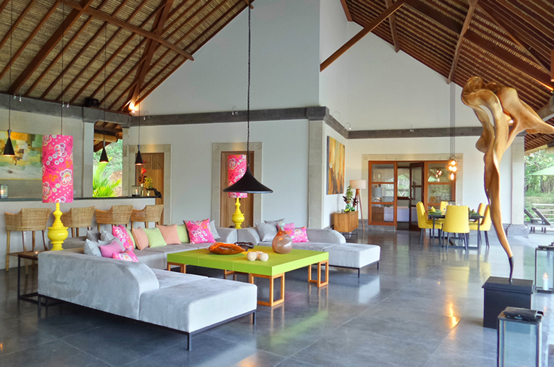 Lounge Room - Villa Nature - Ubud, Bali