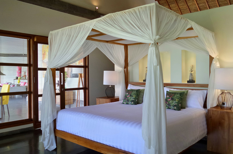 Bedroom with Four Poster Bed - Villa Nature - Ubud, Bali