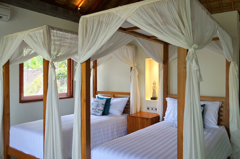 Twin Bedroom - Villa Nature - Ubud, Bali