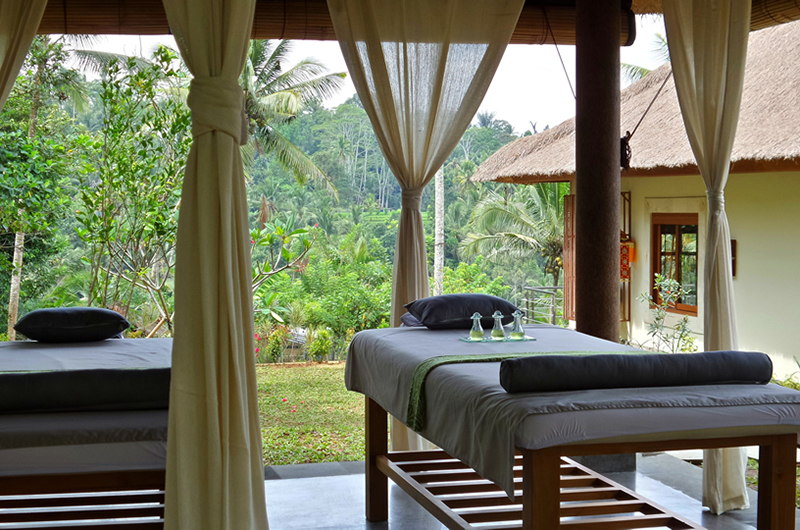 Open Plan Spa - Villa Nature - Ubud, Bali