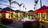 Pool at Night - Villa Naty - Umalas, Bali
