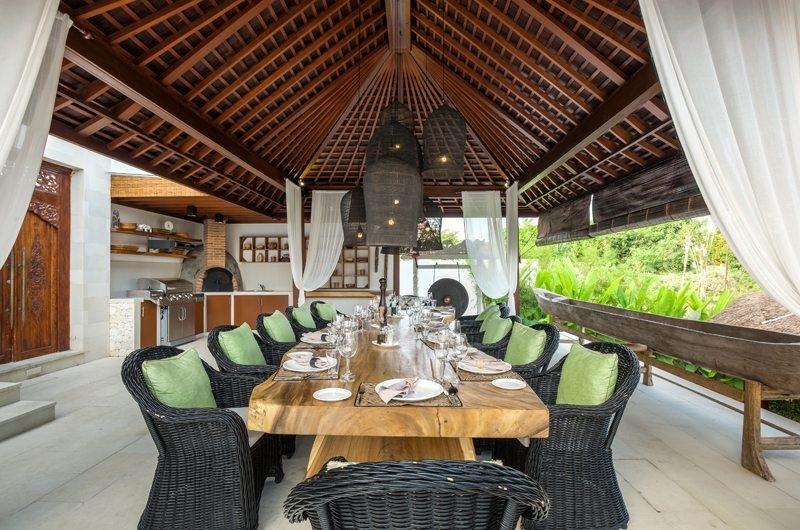 Indoor Dining Area - Villa Naty - Umalas, Bali