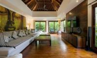 Lounge Room with TV - Villa Naty - Umalas, Bali