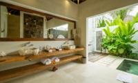 His and Hers Bathroom - Villa Naty - Umalas, Bali