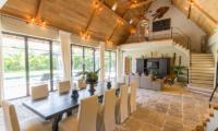 Living and Dining Area - Villa Nehal - Umalas, Bali