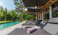 Sun Loungers - Villa Nehal - Umalas, Bali