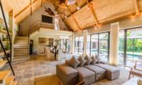 Indoor Living and Dining Area - Villa Nehal - Umalas, Bali
