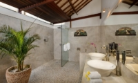 His and Hers Bathroom - Villa Noa - Seminyak, Bali